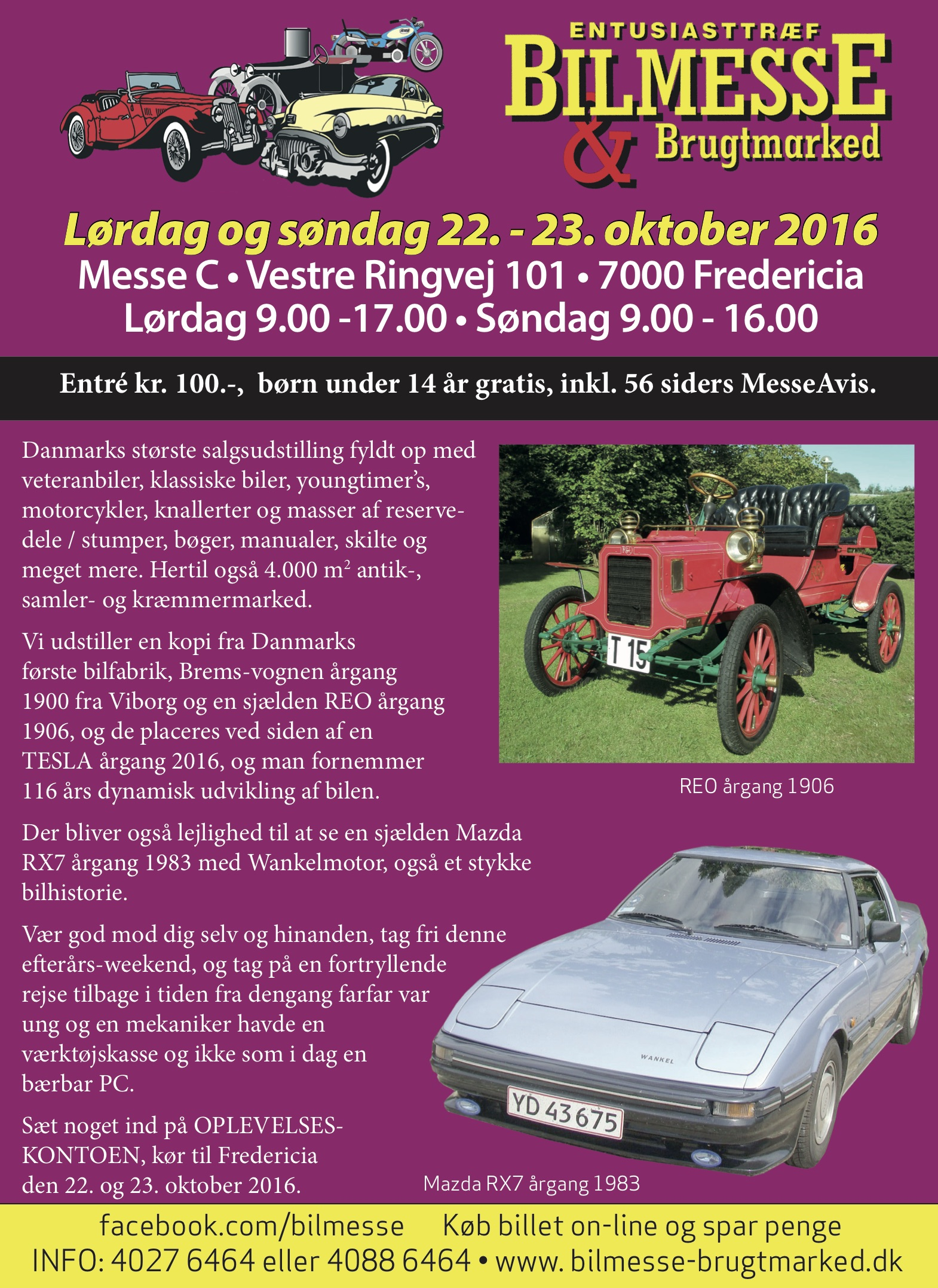 BilMesse & Brugtmarked oktober 2016