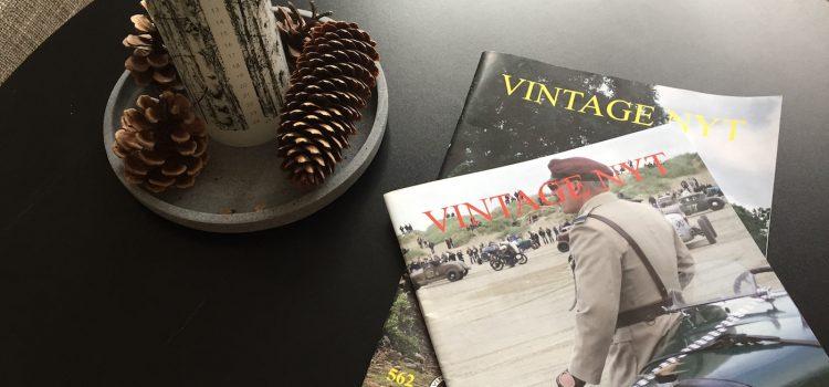 OBS: Vintage Nyt bladet for december er forsinket
